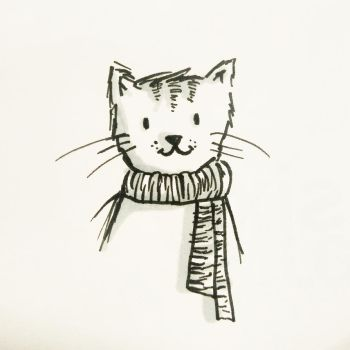 Le cat by mushroomdoodles