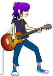 Noodle Jamin on The LesPaul by FoxTail8000