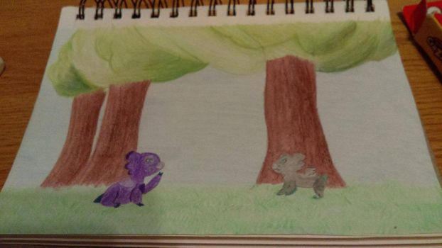 First encounter - Traditional by banana74123