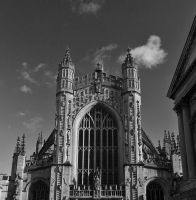 Bath Abbey by Xs9nake