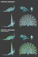 Crystal Peacock by Fraxuur