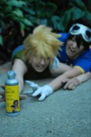 Digimon: Hairspray Fight by Bearer-Of-Darkness