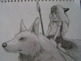 Mononoke:Princess of Beasts by Blitz32