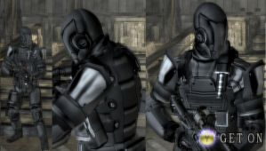 Armoured Gear For Leon Re4 by Zerofrust