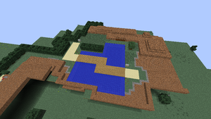 Minecraft Sinnoh: Route 205 by NinjaKirby144