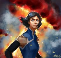 Korra -- the Legend of Korra by MrBorsch