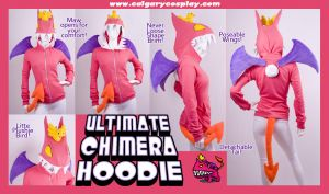 Ultimate Chimera Hoodie by calgarycosplay