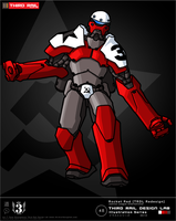 Trdli1348 Rocket Red Redesign by TRDLcomics