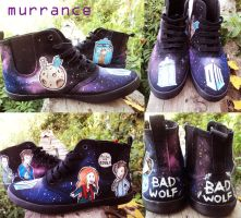 Doctor who shoes by Boorza