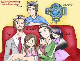 The New Frostiron Family Color Version!! by neniths