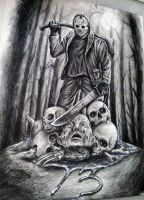 Friday The 13th Sketch by herrerabrandon60