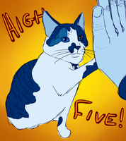 Overlord HighFives by hamner
