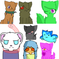 A ton of bad drawings. by Lithekitty1235