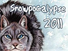 Snowpocalpyse Badge by Foxfeather248