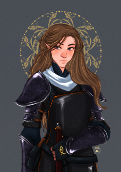 Commission : Cleric by AlexielApril