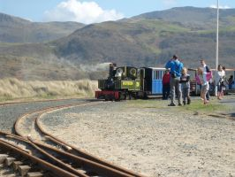 Lynton and Barnstable engine in wales by klambert94