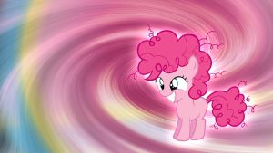Filly Pinkie Pie Wallpaper by Pappkarton