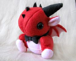 Plushie Giveaway - Valentine by DragonsAndBeasties