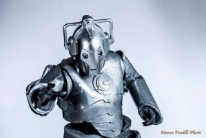 Cyberman cosplay - Doctor Who by AndreaBarbieri