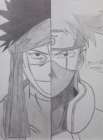 Zabuza and Kakashi Finishid! by Monstrenga-Do-Lago