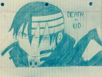 Death the Kid Drawing by penny222000