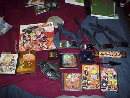 My Massive Naruto Collection by akari-jaganashi