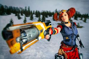 Gaige the Mechromancer - Borderlands 2 by lAmikol by lAmikol