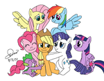 We love our Applejack! by Agufanatic98