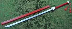 Enishi's Sword from Rurouni Kenshin by Soynuts