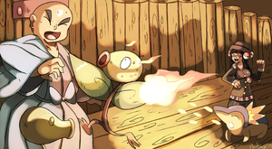 The Battle at Bellsprout Tower