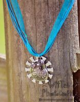 Nautical Shell Steampunk Necklace - FOR SALE! by WitTea