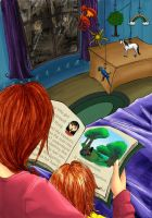 Bedtime Story by dubiousicicle