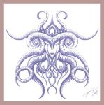 0911 Tattoo Design - Symmetry1 by Icy-Flame