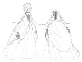 Cinderella Ball Gown (Charming) by djeffers