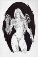 Witchblade commission 41 by Xenomrph