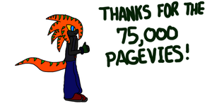 Thanks for the 75,000 pageviews by TruePhazonianForce