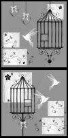 Birdcages. by rockgem