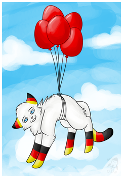 99 red balloons by kiroo