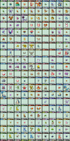 Pokemon Endless Adventure Chart