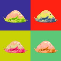 Blobfish Popart by Noaaah