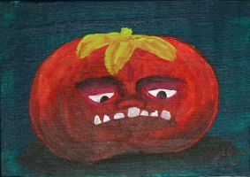 Killer tomato 2 by LaurenWiles
