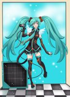 Vocaloid: Hatsune Miku by Alex-Goncalves