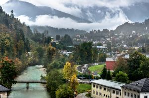 Berchtesgaden in the rain by JBord