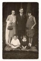 Vintage photo - family with kids by OMEGA86