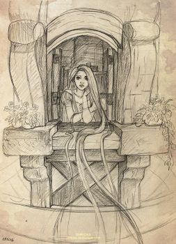 Project (Rapunzel) by Shricka