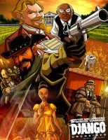 2013 Django Unchained by GabeLamberty