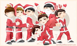 INFINITE XMAS by trace-xing