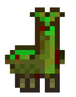 Zombie Llama by Arrancarfighter