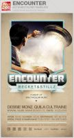 Encounter Event Flyer Template by loswl