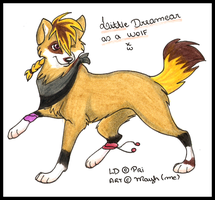 LD as a wolf By MayhWolf by Decode-That
